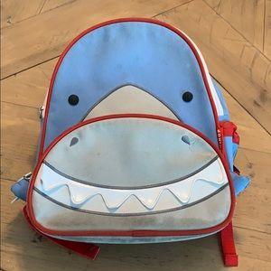 Skip hop shark backpack toddler kids